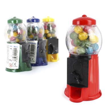 MAQUINA CHICLES BUBBLE GUM MACHINE