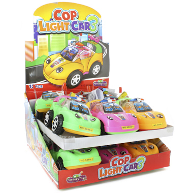 COP LIGHT CAR 3 CON CARAMELOS