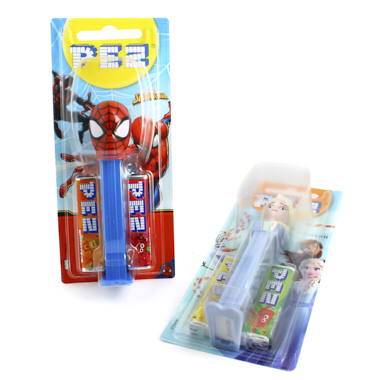 PEZ MUÑECO SPIDERMAN+FROZEN