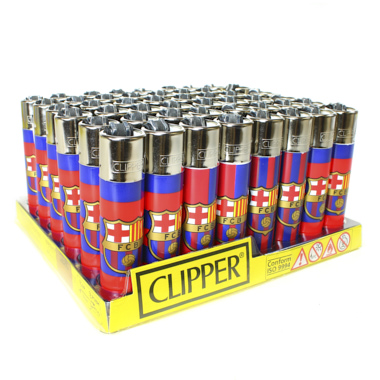 MECHERO CLIPPER FCB ESCUDOS