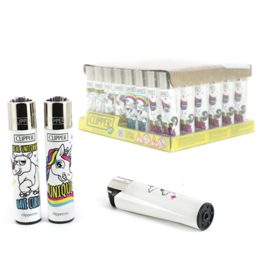 MECHEROS CLIPPER UNICORNIO Y ARCOIRIS