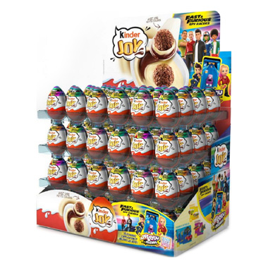 CHOCOLATE CREMA KINDER JOY SORPRESA