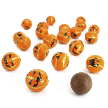 CALABAZAS DE CHOCOLATE HALLOWEEN
