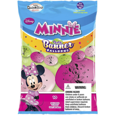 BANNER GLOBOS MINNIE MOUSE