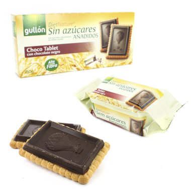 CHOCO TABLET GULLON DIET NATURE